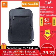 オリジナル xiaomi mi ビジネス旅行バックパック 2 世代の多機能バッグ 26L 大容量のための 15.6 インチのノートパソコンバッグ