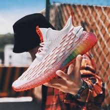 Baskets colorées pour hommes, chaussures de Camouflage de Style à la mode pour hommes