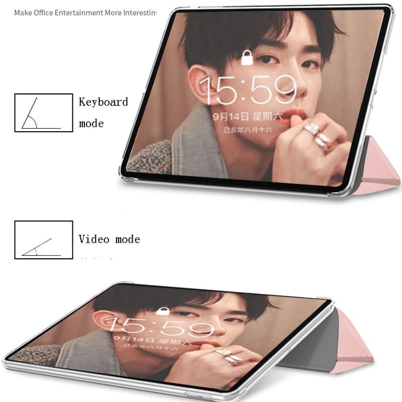 Funda iPad 7th Generation Case Tablet Pouch PU Leather Tri fold ebook Case For Apple iPad