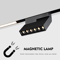 magnetic light led track lights rail tracking lighting foldable spot led lights bulb 4w 8w 16w spotlights replace halogen Lamp