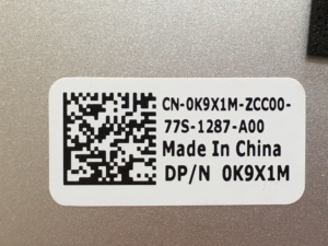 Image 5 - New Original For Dell Inspiron 15D 7000 7570 LCD Rear Top Lid Back Cover 0G3CRP 0K9X1M Silver