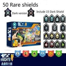 Nexoe Ridders Zeldzame Schilden Model Bouwstenen Kasteel Warrior Nexus Scannable Game Speelgoed Voor Kinderen
