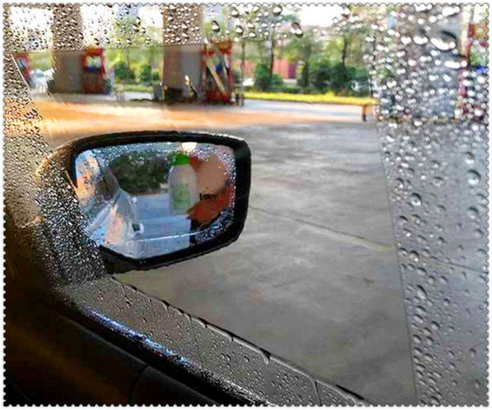 Universal car <font><b>accessories</b></font> rearview mirror nano waterproof membrane for <font><b>Mercedes</b></font> Benz C450 C350 A45 S550 <font><b>S500</b></font> IAA image