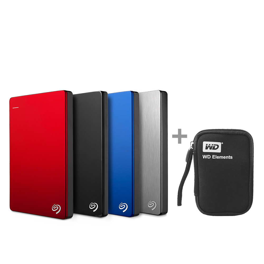 "Seagate Backup Plus Slim Portable 1TB USB 3.0 2.5/"" External Hard Drive"