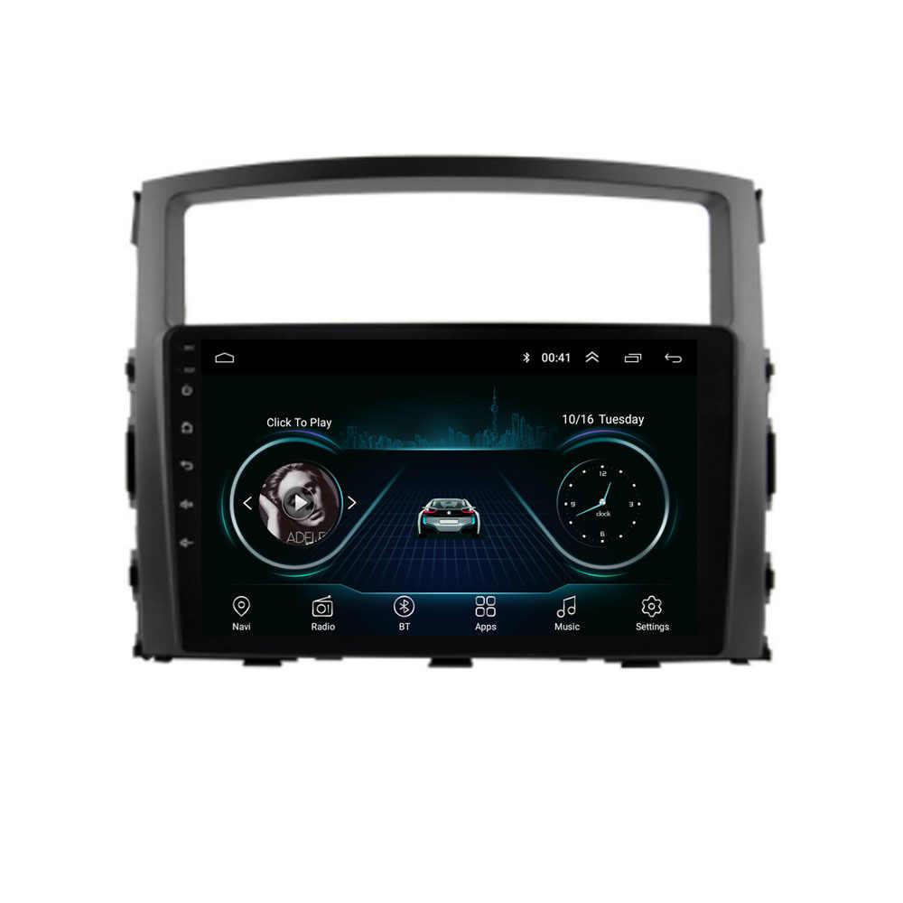 4G LTE Android 8.1 Voor Mitsubishi Pajero V93/V97 2007 2008-2017 2018 2019 Multimedia Stereo Auto DVD Speler Navigatie GPS Radio