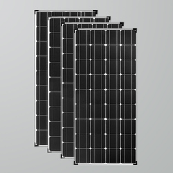 Xinpuguang 4pcs 18V 120w Solar panel Maximum power 500w panel solar charger plate Photovoltaic for car boat caravan RV house