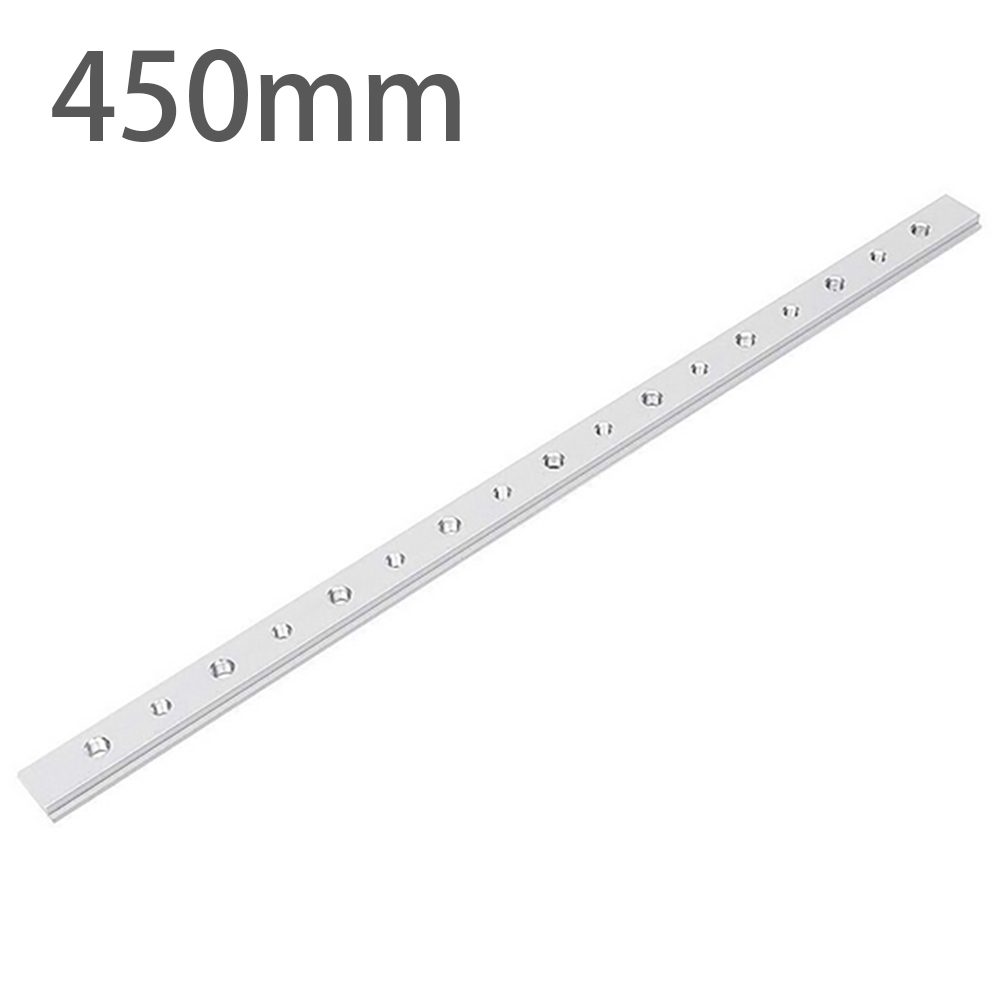 450mm New T-Track Sliding Nut T Slot Nut T Track Slot Sliding Slab Slide Block For T-Slot T-Track Woodworking Tool