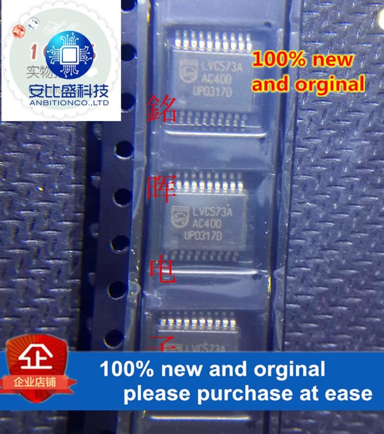 10 шт. 100% новые и оригинальные 74LVC573ADB SSOP20 в наличии