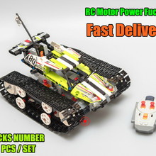 New Technic RC TRACKED RACER Car Electric Motor Power Functi