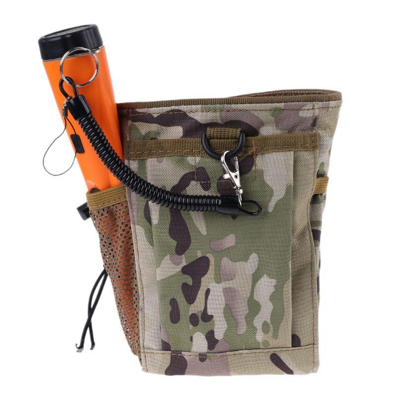 Металлическая обнаруживающая сумка, сумка для экскаватора, поставка, сокровище, талия, спасение удачи, Находка, сумка, лопата