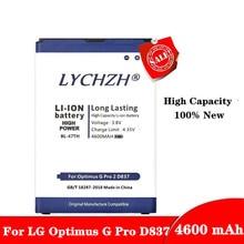цена на New 4600mAh BL-48TH BL-47TH Battery For LG Optimus G Pro F240/K E980 E988 E940 F310 D684 F240S F240L D838 Pro 2 Battery