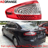 MZORANGE Outer Left/Right Side Rear Tail Light For Ford Mondeo Fusion 2011 2012 Rear Bumper Lamp Tail Light Car Assembly