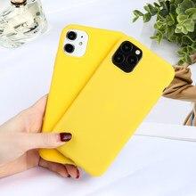 Coque de téléphone en silicone mat, couleur bonbon, étui pour Huawei Honor 8X 9X 9 8 Lite 8A 8C 8S 9i 2018 Play 3 V30 Pro