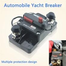 Güneş doğru akım anahtarı 30-300A 12-42V invertör devre kesici 30A sigorta sıfırlama araba tekne AMP devre toprak kaçağı anahtarı kesici sigorta