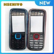 Coque pour Nokia 5130, verre d'affichage, cadre central, clavier arrière