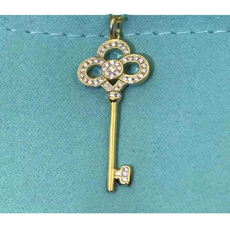 Купить 1: 1 оригинальная модель s925 кулон для женщин модное ожерелье