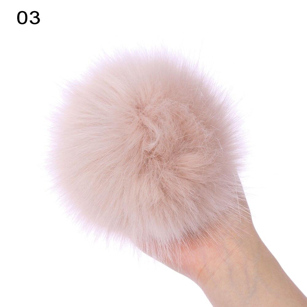 15 см цветные лисы Меховые помпоны для женщин шапка Меховые помпоны для шапок шапка s большой натуральный помпон из меха енота для вязаной шапки шапка