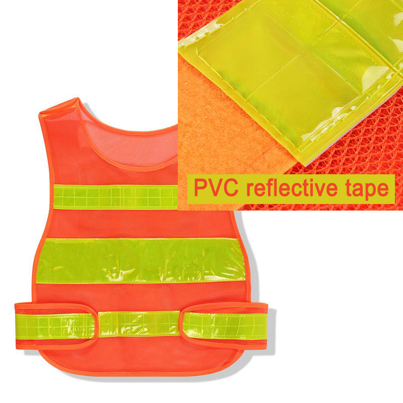 Купить с кэшбэком High Visibility Night Work Security Traffic or Cycling Safety Reflective Vest