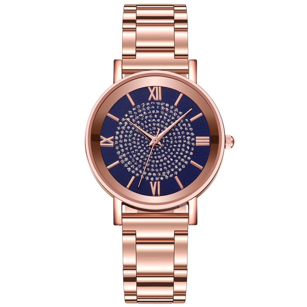 שעון יד נשים זהב יוקרתי  HEZHUKEJI 6