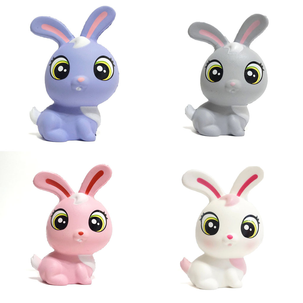 Funny Squeeze Rabbit Kids Toy Cream Bread Scented Slow Rising Toys Novelty Fun Squeeze Stress Reliever Kids Adult Gift L1219