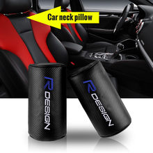 Car-Headrest Safety-Neck-Pillow XC40 R-Design Volvo for XC90 S60 Cx60/S80/V40/.. Carbon-Fiber-Style