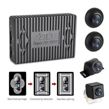 Rearview-Cam Car-Video-Dvr-Recorder Parking-System Bird-View 4-Cameras Round Night-Vision