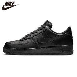 Белые кроссовки NIKE AIR FORCE 107 AF1 в стиле ретро, черные классические кроссовки