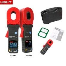 UNI T UT276A +/UT278A + شاشة ديجيتال عالية الدقة المشبك جهاز اختبار المقاومة الأرضية