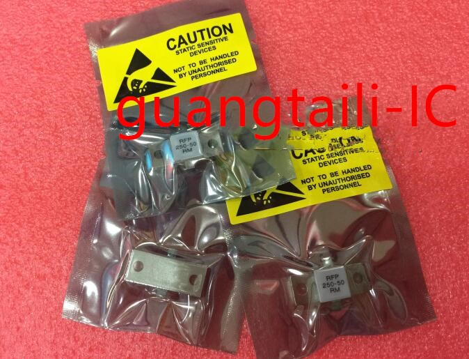 1PCS RFP250-50RM RF50 250 Watts 50ohms / 250W 50 OHM Flange RF Resistor Double Lead USED