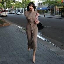New Long sleeve fitting sexy Elegant Autumn Dress Girls Boho