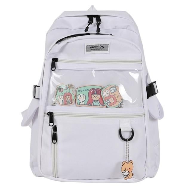 Фото женский рюкзак повседневный школьный для школы дорожный девочек цена