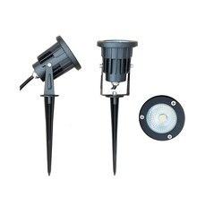 Foco reflector LED de 12v, 220v, 3W, 5W, 7W, 9W, 12W, IP65, iluminación exterior, reflector regulable, 1 ud.