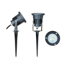 Luz para piscina led 1 peça, 12v, 220v, 3w, 5w, 7w, 9w, 12w, ip65 holofote led regulável iluminação externa