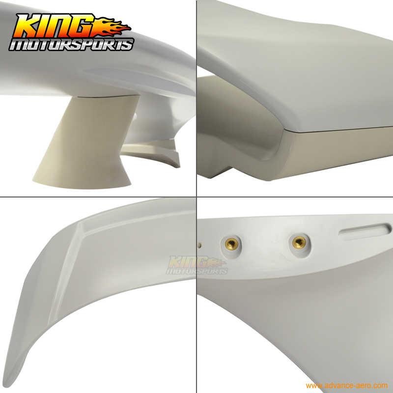 のためのフィット 13-17 frs brz g スタイルリアトランクスポイラーリップ翼 abs 塗装 GT86