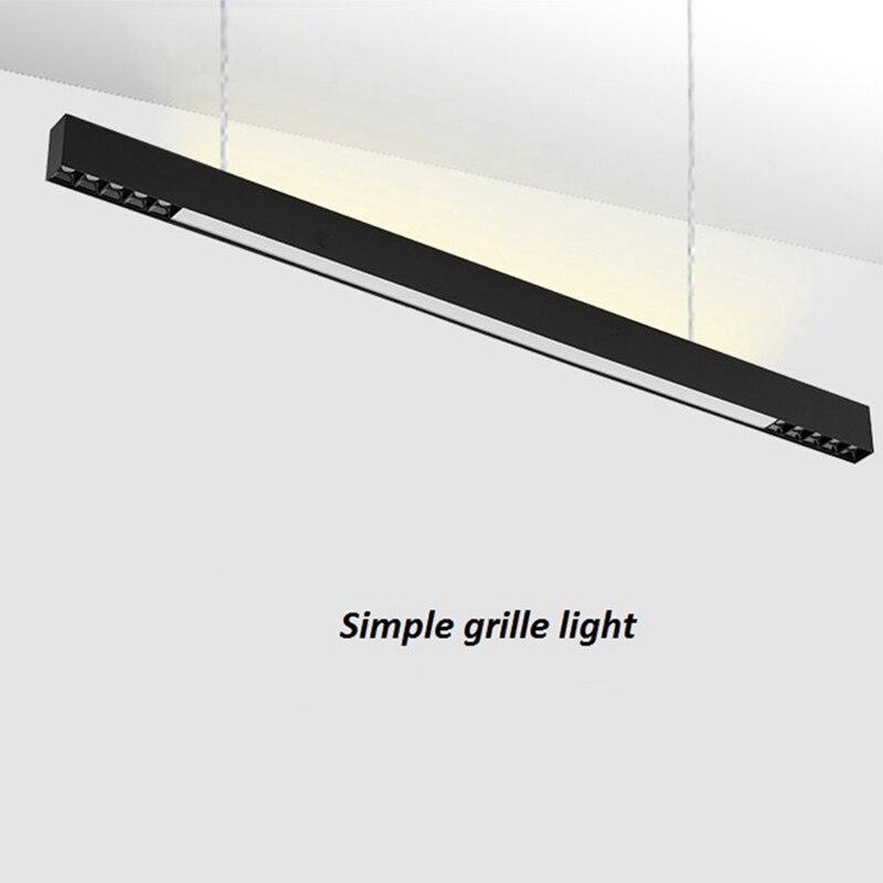 LukLoy современный простой подвесной светильник кухонная полоска подвеска прожектор потолочная установка прожектор подвесной провод свет