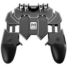 AK66 Six Fingers Game Controller 4.7-6.5 inch Mobile Phone Trigger Shooting Gamepad