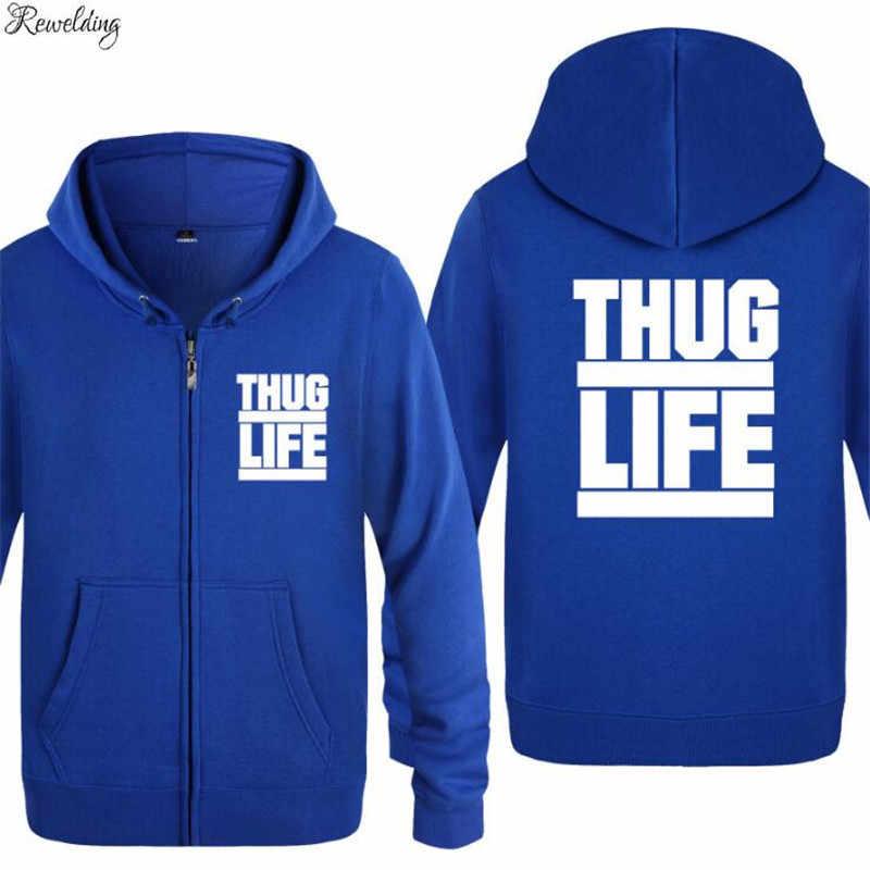 Tupac Shakur Sweat à capuche 2PAC Veste polaire hiver épaissir à capuche chaud Manteau pull