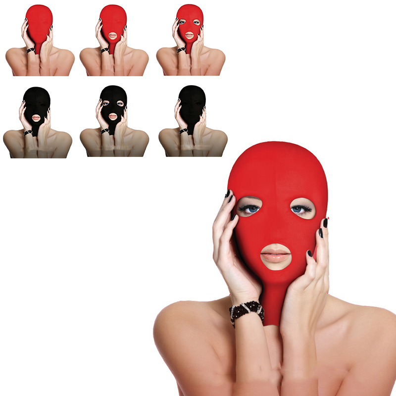Exotic Accessories Head Sex Mask Fetish Slave BDSM Bondage Restraints Role Play Sex For Couples Love Game Open Mouth Mask