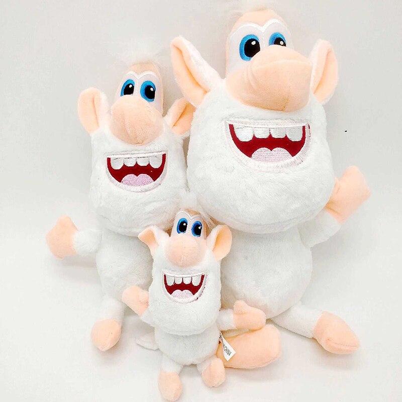 3 Size Russia Cartoon White Pig Booba Buba Plush Toys Stuffed Doll Toy Birthday Christmas Gift For Kids Children