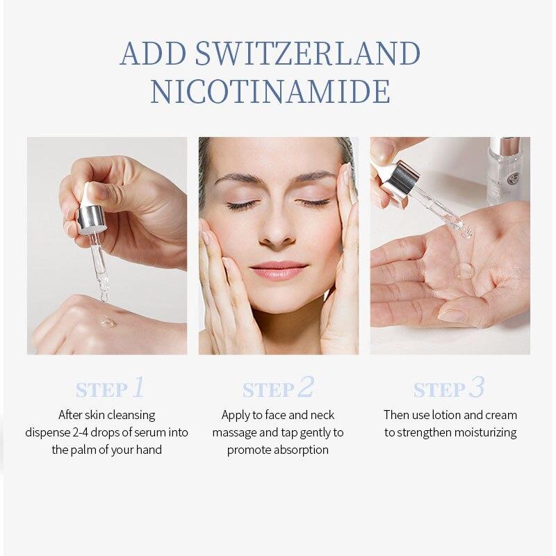 Купить laikou nicotinamide сыворотка для лица отбеливание пор лечение