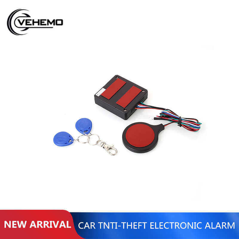 Car Alarm Car Auto Button RFID Burglar Security Entry Immobilizer Anti-Theft Engine Alarm Accessories