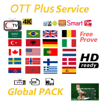 Europe IPTV Spain Arabic IPTV 1 Year android TV box Support Android M3U MAG iOS TV box only no channels included