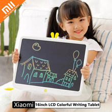 Xiaomi Mijia Wicue 16inch LCD Writing Tablet Handwriting Board Singe/Multi Color Electronic 12/10inch Drawing Pad a Good Gift(China)