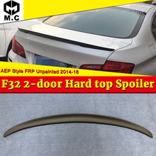 F32 SpoilerTail Wing FRP Unpainted For BMW 4-Series 420i 428i 430i 435i 2-Door Hard Top AEP Style Wings Rear Trunk Spoiler 14-18