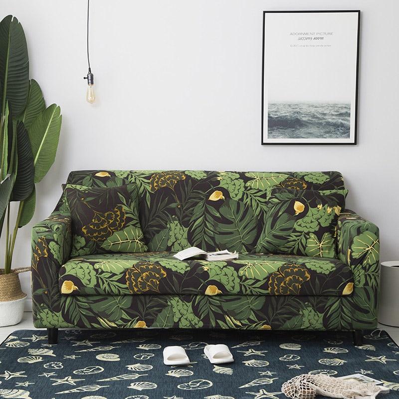 Elastico di Stirata Universale Divano per Soggiorno cubre divano Componibile Coperte e Plaid Divano Angolo di Copertura per Mobili copridivano 1PC