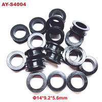 200pieces For Toyota Fuel Injector rubber seals 14*9.2*5.6mm (AY S4004)