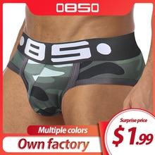 85 Brand sexy briefs men underwear cotton cueca tanga male panties slip homme breathable  jockstrap gay bikini briefs U Pouch