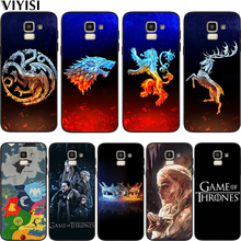 Phone Case Game Thrones Daenerys Dragon For Samsung Galaxy S10 case S8 S6 S7 S9 J2 J3 J5 J7 J4 J6 J8 2018 Plus Etui Coque Cover