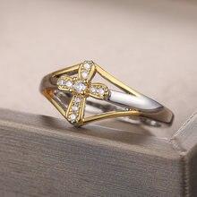 Huitan модные перекрестные кольца для пальцев традиционные регионы