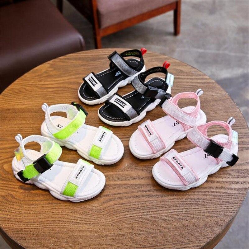 2020 Summer New Children Slippers Boy Indoor Antiskid Sandals Soft And Comfortable Girls Beach Shoe Kids Sports Sandals